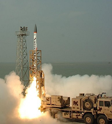 India Tests Supersonic Advanced Air Defense Missile