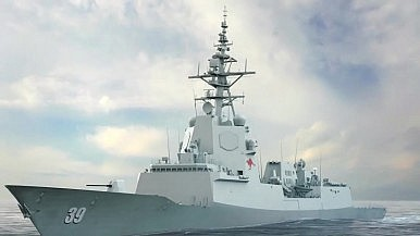 Australia Begins Construction of Final Air Warfare Destroyer