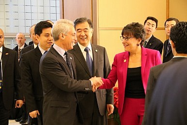 US-China Talk Intellectual Property, Market Access at Trade Dialogue