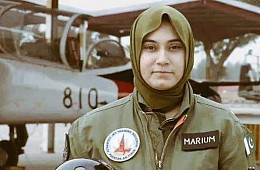 Pakistan's First Female Fighter Pilot Killed in Crash