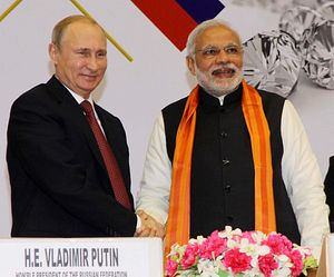 In Russia, Indian PM Looks to Close Major Defense Deals