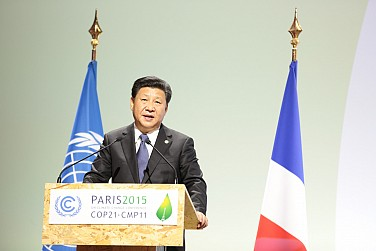 China's President Arrives in Paris for Final Push on Climate Deal