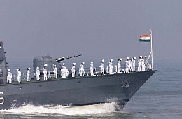 India Sends Stealth Warships to South China Sea