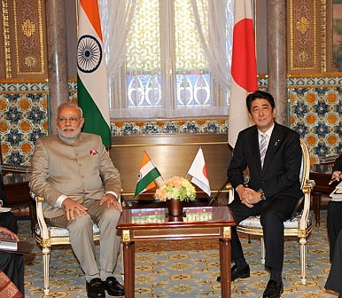 Abe's Visit Takes Japan-India Security Relations to the Next Level
