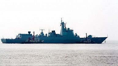 China's South Sea Fleet Gets Another Guided Missile Destroyer