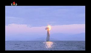 North Korea Tests a Submerged-Launch Ballistic Missile, Take 3