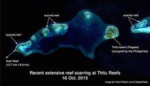 Satellite Imagery Shows Ecocide in the South China Sea