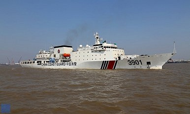 Beijing Builds 'Monster' Ship for Patrolling the South China Sea