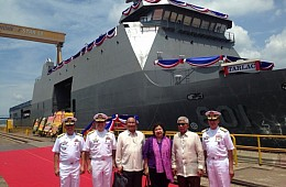 Biggest Philippines Warship Kicks Off 2018 Engagements