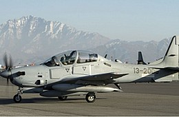 Afghan Air Force's New Light Attack Aircraft Conducts More than 260 Sorties in Afghanistan