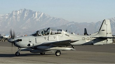 Confirmed: First Four A-29 Light Attack Aircraft Arrive in Afghanistan