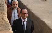 What's on François Hollande's Agenda in India?