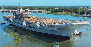 India's First Indigenous Aircraft Carrier to Conduct Basin Trials in 2020