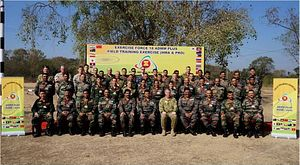 India Concludes 'Watershed' Military Exercise With ASEAN-Plus Nations