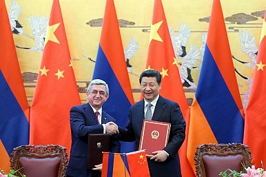 China in the Caucasus
