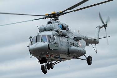 India Receives Final Batch of Russian Mi-17 Helicopters