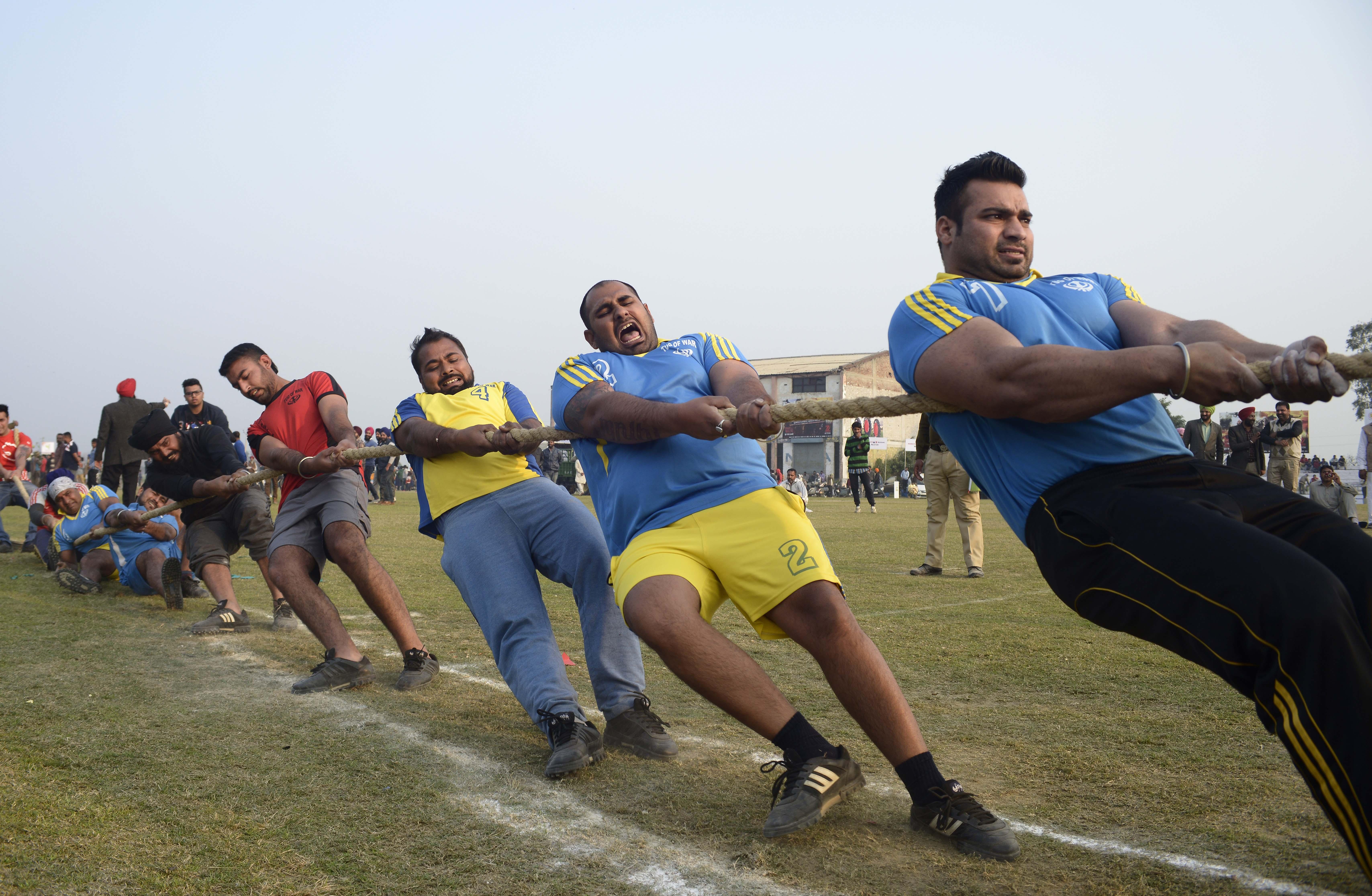 India's Rural Olympics