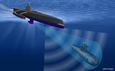 World's Largest Anti-Submarine Robot Ship Ready for Sea-Trials in April