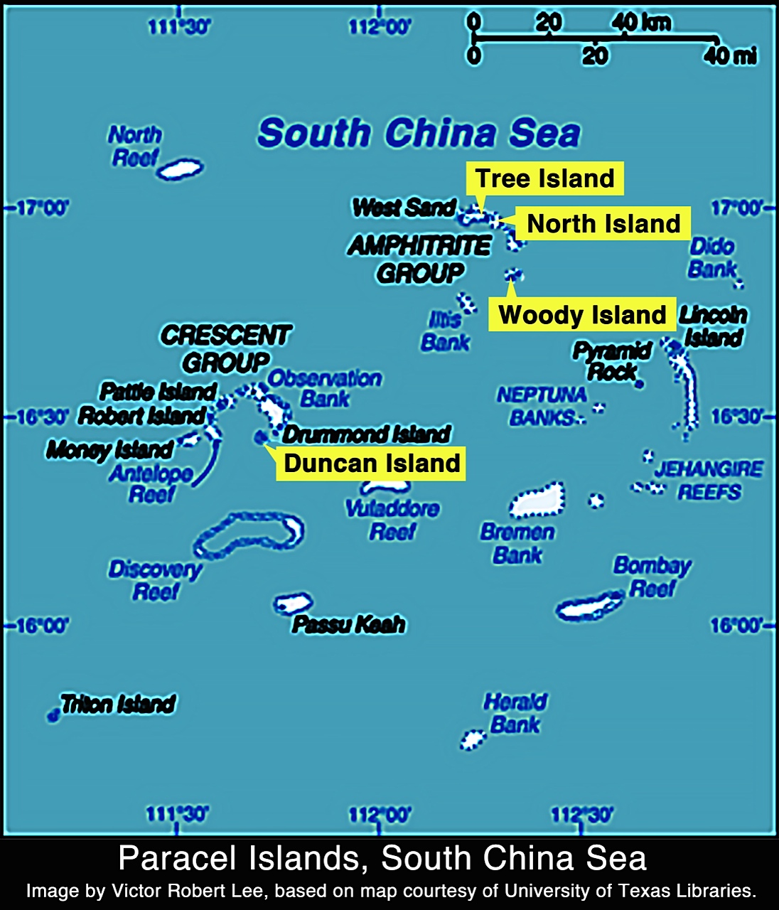 Chinese Island In North China Sea