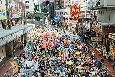 UK Sees 'Grounds for Concern' About Hong Kong's Freedoms