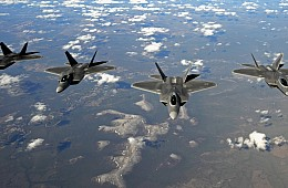 US Deploys F-22 Stealth Fighters to South Korea to Deter Pyongyang