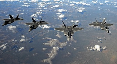 Nearly 10 Percent of the US F-22 Inventory Was Damaged or Destroyed