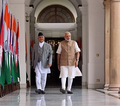Nepal's Prime Minister Visits India, Hoping to Restore Strained Relationship