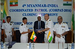 India, Myanmar Ink New Naval Patrol Pact