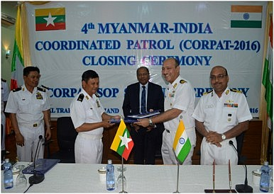 What's Behind the New India-Myanmar Naval Exercise?