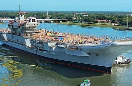 India's First Homegrown Aircraft Carrier to Begin Sea Trials in 2020