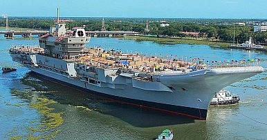 India's First Homegrown Aircraft Carrier to Enter Sea Trials in Early 2020