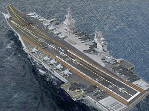 Is Russia Building a Nuclear-Powered Supercarrier?