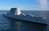 U.S. May Field Railgun on Zumwalt Destroyer