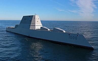 U.S. May Field Railgun on Zumwalt Destroyer