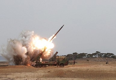 Meet North Korea's New Multiple Launch Rocket System