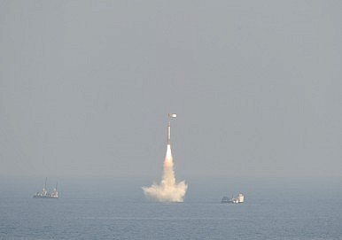 India Successfully Tests Intermediate-Range Nuclear-Capable Submarine-Launched Ballistic Missile