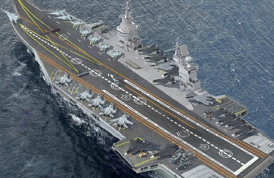 Is Russia Building A Nuclear Powered Supercarrier The