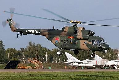 PLA_Mil_Mi-17-1_at_Chelyabinsk_Shagol_Air_Base