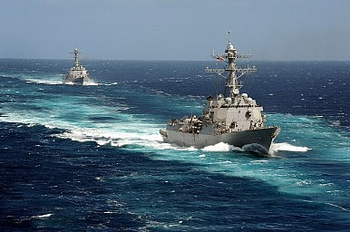 US Freedom of Navigation Challenges in South China Sea on Hold