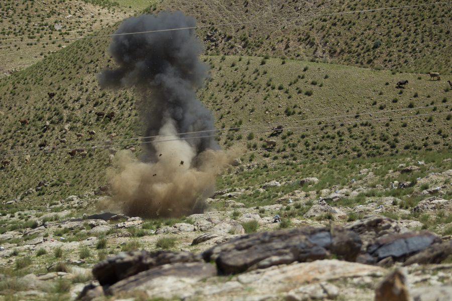 Digging for Mines in Afghanistan