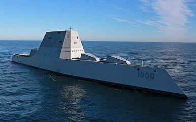 US Navy's New Stealth Destroyer Soon to Test Weapon Systems