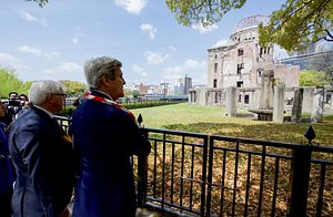 Kerry Becomes First US Secretary to Visit Hiroshima