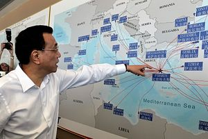 China's Mediterranean Odyssey