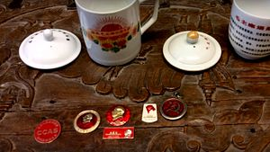 Badges and Mugs