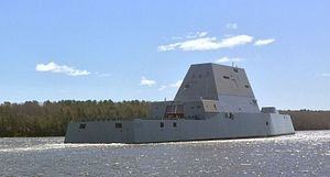 US Navy's Newest Stealth Warship Will Take to Sea This Week