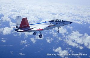 Japan's New 5th Generation Stealth Fighter Jet Makes Maiden Flight