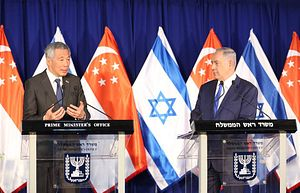 Singapore Boosts Ties With Israel in Historic Visit