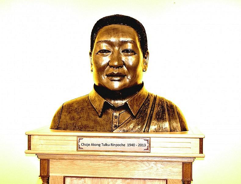 Choje Akong Rinpoche (1940-2013), co-founder of Kagyu Samye Ling. Photo by Bradley Jardine.