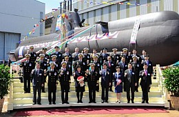 South Korea Launches New Stealth Submarine