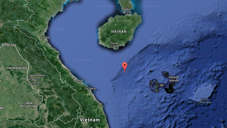 The location of HYSY 981 as of April 3. Image via Google Maps.